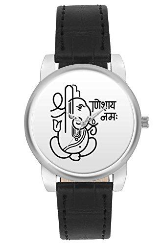 Women's Watch, BigOwl Ganeshaya Namah Designer Analog Wrist Watch For Women - Gifts for her dials