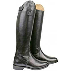 Hkm Italy Lang/Schmale Weite Botas de Equitación, Hombre, Negro, 41 EU