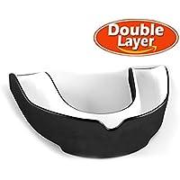 SZRHY Protector bucal Ideal para Deportes de Contacto, Artes Marciales, Karate, Rugby, MMA, Boxeo, Hockey, Fútbol