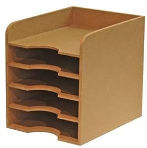 natureline module de classement 5 cases en bois nature. Black Bedroom Furniture Sets. Home Design Ideas