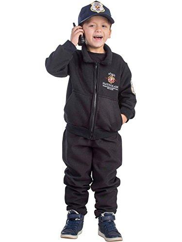 Dress Up America Jungen Hatzolah EMT Retter Kostüm (Emt Kostüm Kind)