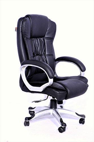 Adiko High Back Office Chair, Revolving Chair (Black)