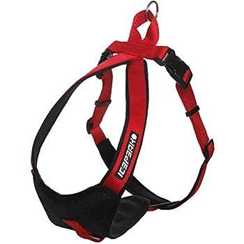 ICEPEAK PET 670302304B Collier pour Chien Prozone Harnais Rouge Taille S