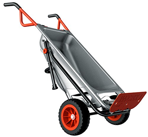 The Worx Aerocart is simply an amazing piece of garden kit and is more than just a simple wheelbarrow, its described by Worx as a '8-in-1 all-purpose lifter, carrier & mover'.