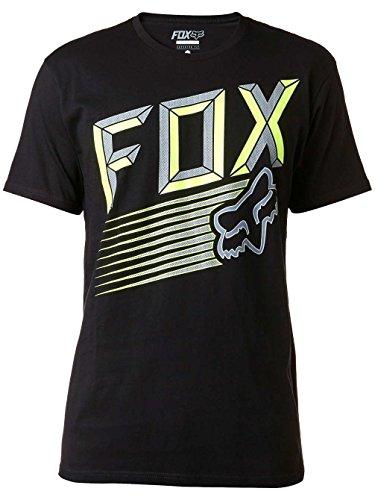 Fox T-Shirt Efficiency Heather Graphite Schwarz