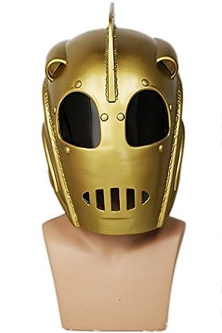 Cosplay Kostüm Helm Deluxe Cliff Harz Maske Hero Replik Merchandise für Erwachsene Comic Halloween Verrückte (Rocketeer Kostüm Halloween)