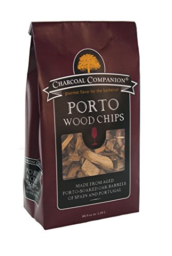 Charcoal Companion CC6061 88.5-cu Inch Port Soaked Wood Chips - Brown
