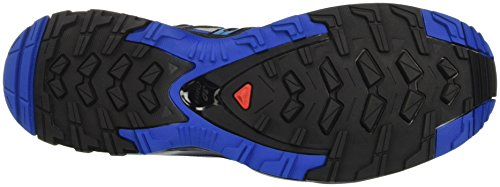 Salomon XA Pro 3D, Chaussures de randonnée homme Multicolore (Quarry/nautical B/hawaiian O)