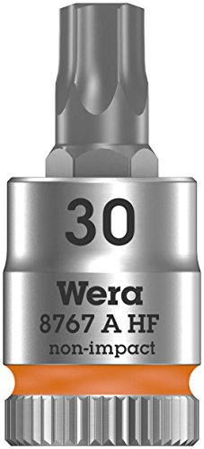 Wera 05003369001 8767 A HF Torx Zyklop Bitnuss mit 1/4