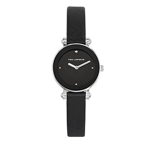 Lapidus Reloj Ted negro piel Signature-A0680INPN -