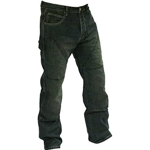 Juicy Trendz Hombres Motocicleta Motorista Pantalones Con Forro De Protección
