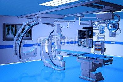 "Alu-Dibond-Bild 140 x 90 cm: ""OP für Herzchirurgie"", Bild auf Alu-Dibond"