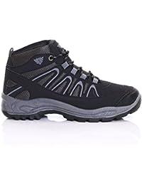 Slimbridge Snowdon Botas de montaña de los hombres, Negro 45