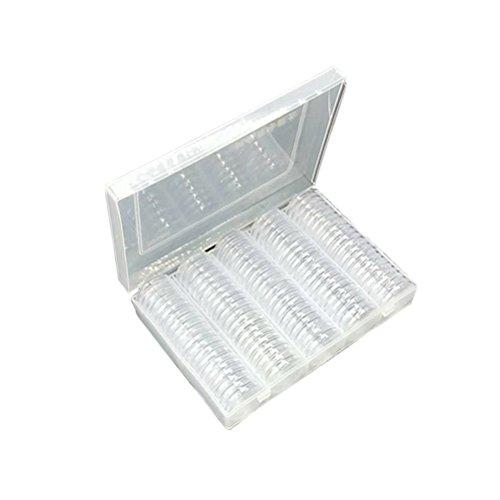 Toymytoy cassa della protezione di raccolta della moneta della scatola di stoccaggio della raccolta di moneta di 27mm, 100pcs