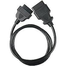 "GOGOLO 150CM OBD 2 OBD II 16 Pin 59 ""extensión de cable del cable del cable adaptador de extensión de diagnóstico"
