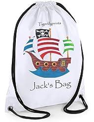 tigerlilyprints swim bag - Bolsa de cuerdas color blanco