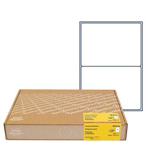 Avery Zweckform 8018-300Etichette di spedizione, 199,6x 143,5mm (A5), 600pezzi