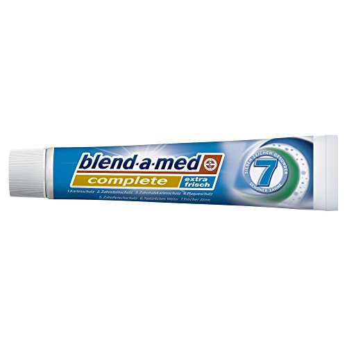 Blend-a-med Complete Extra Frisch Zahncreme, 12er Pack (12 x 75 ml)