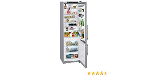 Siemens Kühlschrank Alarm Ausschalten : Liebherr kühl gefrierkombination cpesf 3813 20 edelstahl front a