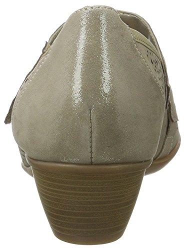 Remonte D5006, Escarpins Femme Beige (Murmel/murmel/antique/42)