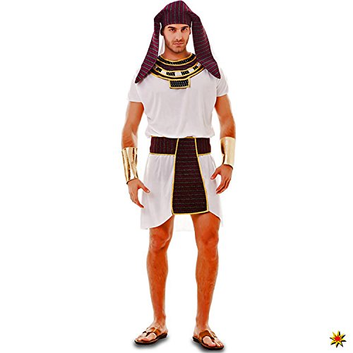 Ramses Kostüm - Herren Kostüm Ägypter Ibrahim Gr. M/L Antike Ägypten Ramses Pharao Fasching Karneval