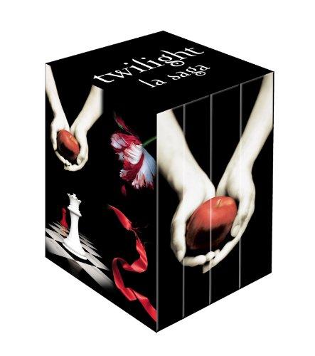 Twilight : Coffret en 4 volumes : Tome 1, Fascination ; Tome 2, Tentation ; Tome 3, Hésitation ; Tome 4, Révélation