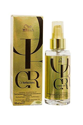 WELLA Professionals Oil Reflections Smoothening Öl für gestärktes und glänzendes Haar, 1er Pack (1 x 100 ml)