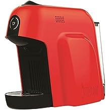 Bialetti Smart Macchina da Caffè Espresso per Capsule in Alluminio, 1200 W, Rosso