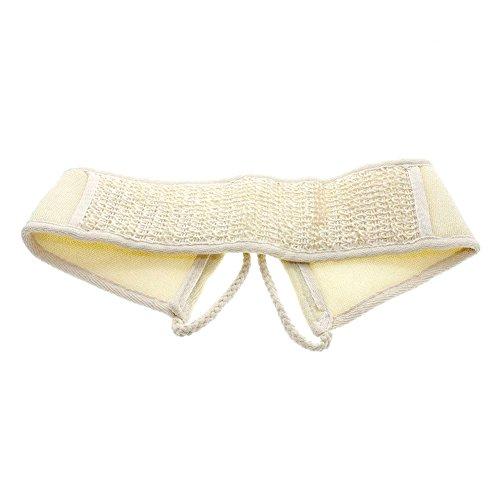 Luffaschwamm, Band für die Rückenmassage, fürs Peeling, aus Baumwolle. -