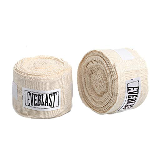 Thai-baumwoll-wrap (Aiming 2 Rollen 3M Cotton Sports Strap Boxbandage Sanda Muay Thai Taekwondo Handschuhe Wraps)