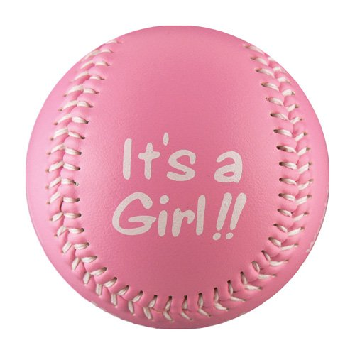 It's A Girl! T-Ball (Rubber Core) (Kids T-ball)