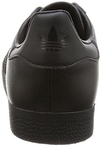 adidas Gazelle, Scarpe da Ginnastica Basse Unisex – Adulto Nero (Core Black/Core Black/Gold Met,)