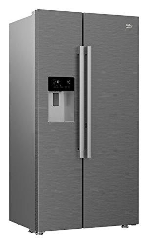 Beko GN162340PT Side-by-Side / A+++ / 182 cm / 353 L Kühlteil / 176 L Gefrierteil / Eco-Fuzzy-Funktion zum Energiesparen / 0°C Zone / Eiswürfel und Crushed Ice / NoFrost / ProSmart Compressor