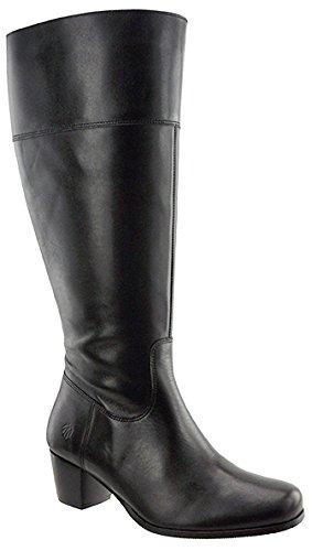 JJ Footwear Damen Stiefel Leder Ellon XS Schwarz Nappa