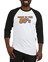 CafePress - Made In The 80'S - Cotton Baseball Jersey, 3/4 Raglan Sleeve Shirt