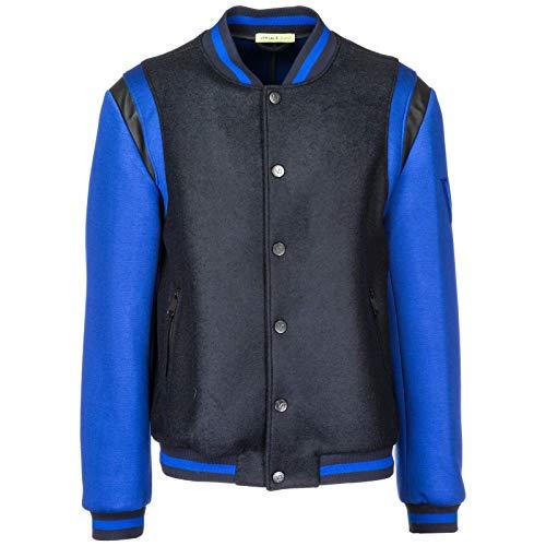 Versace Jeans Herren Bomberjacke blu 48 EU