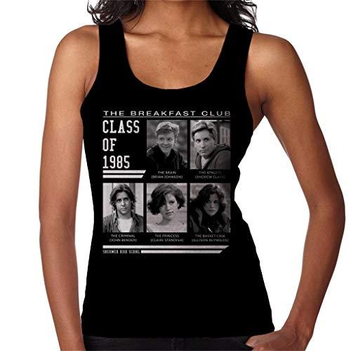 Breakfast Club Class of 85 Women's Vest Black