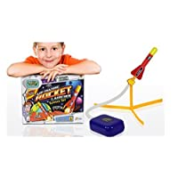 Weird Science Mazing Launcher Science Set-Make own air Powered Rocket Experiment, Multi