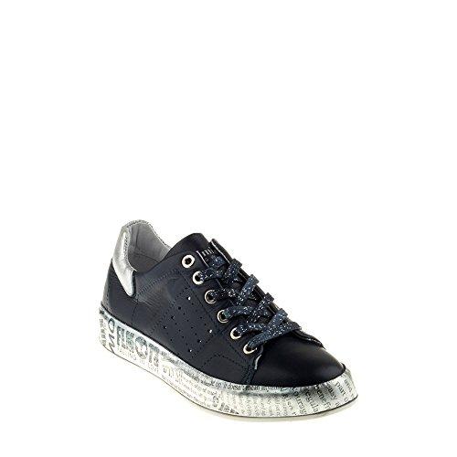 Felmini Chaussures Femme - Tomber en Amour avec Trump B153 - Sneakers - Cuir Véritable - Multicolore Multicolore