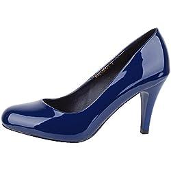Verocara Cx16001, Damen Pumps B-Blue patent