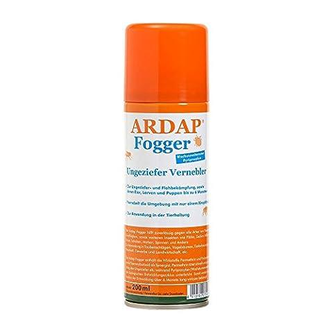Quiko 077490 Ardap Fogger - Ungeziefer Vernebler, 200 ml