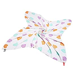 Cuski Great Swan Doodle Multi Gigant Bambus Musselin (Daisy Love Design)