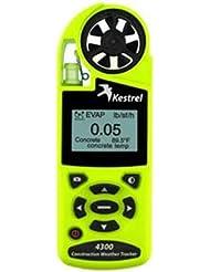 Kestrel 4300 Konstruktion Wetter und Umwelt, Sicherheit, Windmesser
