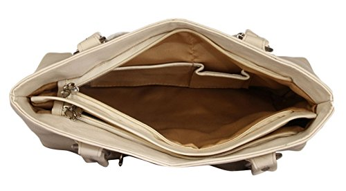 Butterflies Damen Faux Umhängetasche Geldbeuteltotalisator Lederhandtasche Designer Nicht-gerade weiss