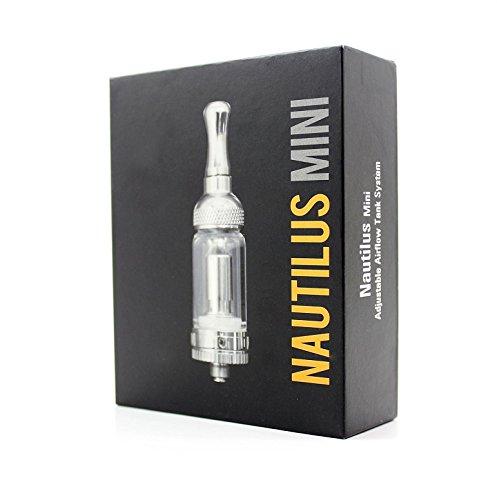 Aspire Nautilus Mini BVC Glas Clearomizer, 2ml, 2 x 1.8 Ohm Verdampferkopf