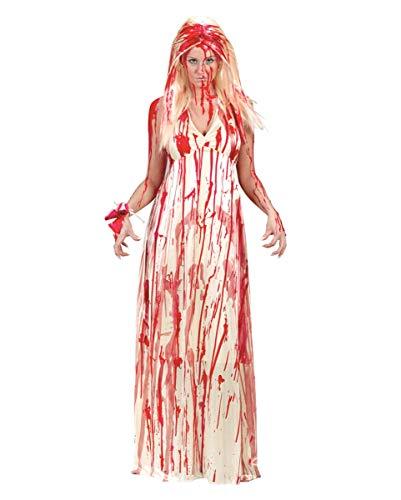 Horror-Shop Carrie Kostüm M/L (Carrie Weiß Kostüm)