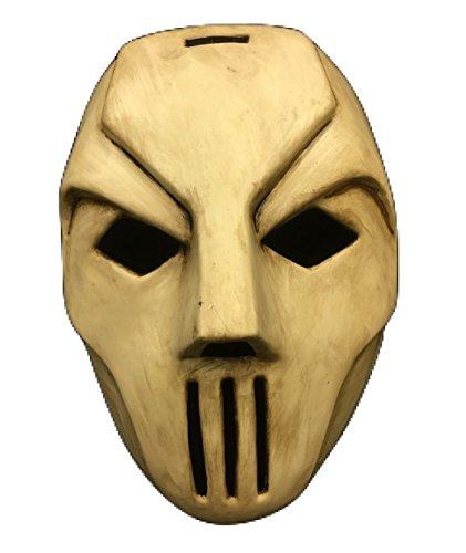 TMNT - Casey Jones Stil Maske - Hart Plastik - universell Größe Maske mit (Jones Casey Ninja Turtles)