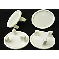 NEW - Pack of 24 White Socket Covers - Child Safety Plug Covers - Easy to Fit - ON SALE