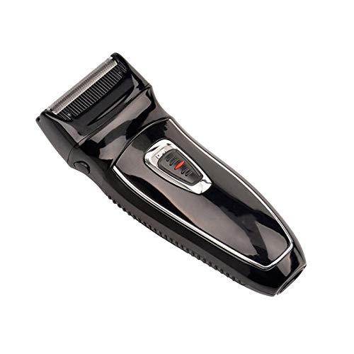GRASSAIR 2-in-1 Dual-Head-Elektro-Akku-Rasierer Einzel Klinge Präzisions Edel Stahlblätter mit Pop-up-Trimmer Für Männer - Dual-head-trimmer
