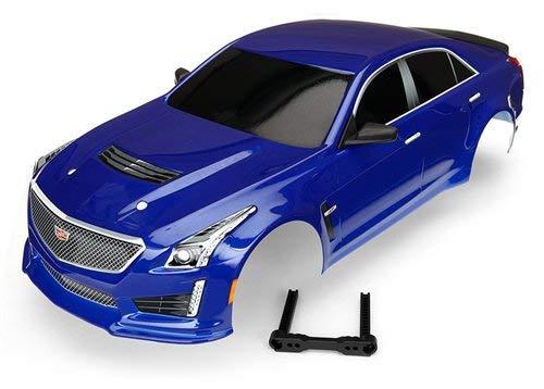Traxxas Karo, Cadillac Cts-V, blau lackiert inkl. Decals (Cts-zubehör Cadillac)